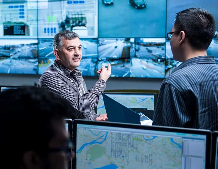 Surrey BC Traffic Management Centre