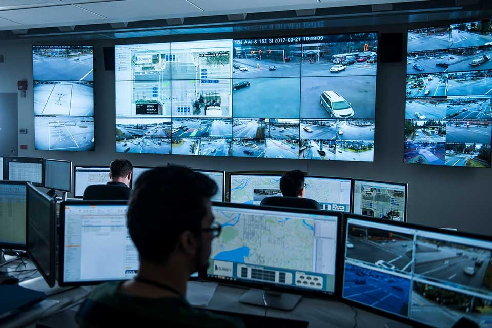 Traffic Management Centre Surrey BC