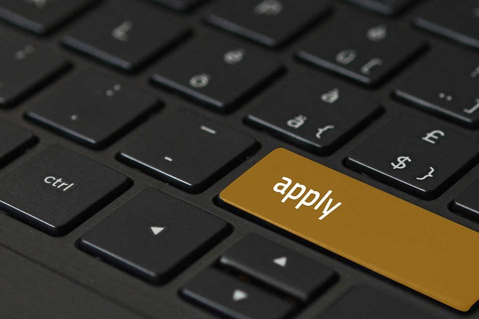 Apply Now Keyboard