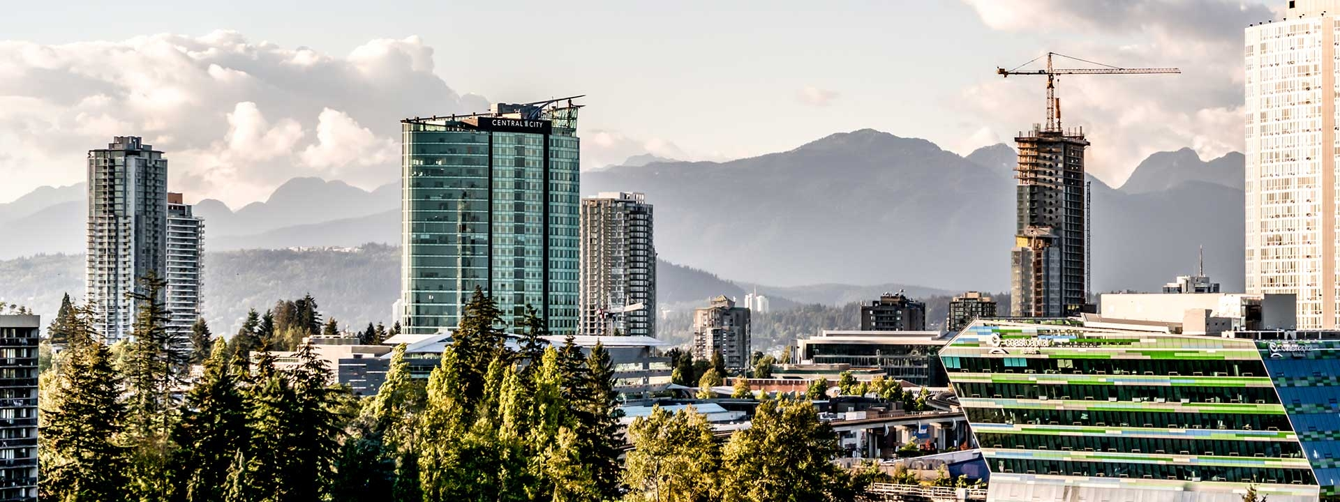 Surrey City Centre Cityscape