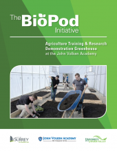 The BioPod Initiative - Agriculture Training & Research Demonstration Greenhouse