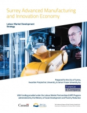 Surrey Advanced Manufacturing and Innovation Economy Labour Market Strategy