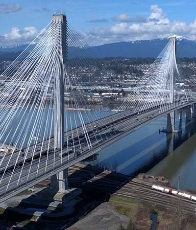 Port Mann Bridge Surrey BC